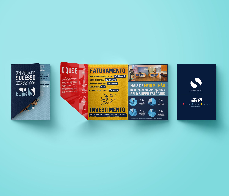 Folder pasta – Uma vida de sucesso